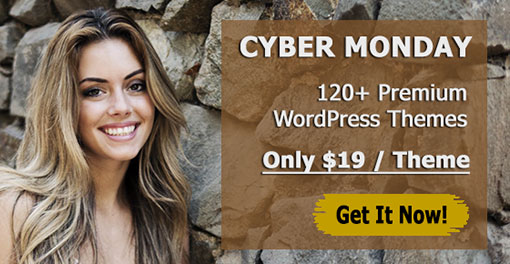 BIG 2017 Cyber Monday Sale of the BEST WordPress Themes!
